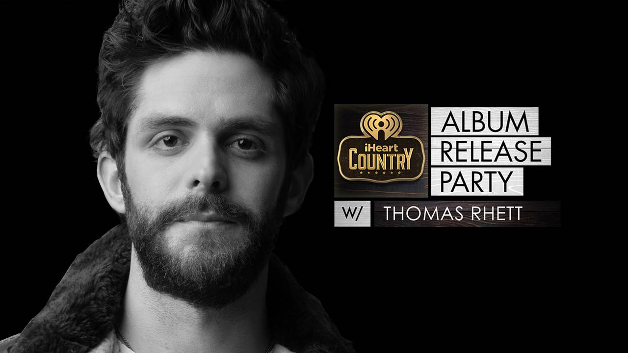 stream thomas rhett album release party live on livexlive premium live music. Black Bedroom Furniture Sets. Home Design Ideas