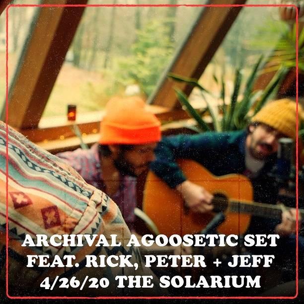 Rick, Peter + Jeff aGOOSEtic 4/26/20 Archive Set